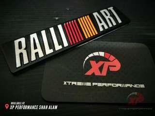 Emblem Ralliart Big size
