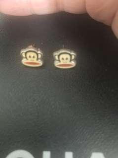 Paul Frank earring