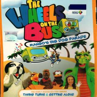 The Wheels On The Bus Mango's Big Dog Parade Anime DVD