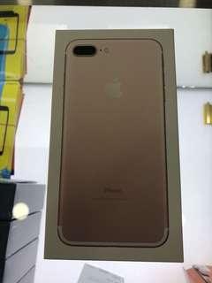 Apple iPhone 7 Plus 128gb Rose Gold Telco set