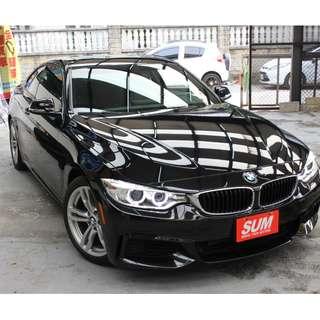 2014 BMW 428i 黑