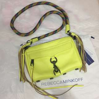 Rebecca Minkoff mini mac with climbing rope