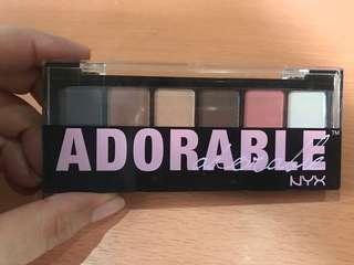 Nyx Adorable eyeshadow palette