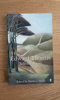 🚚 Edward Thomas: Selected Poems