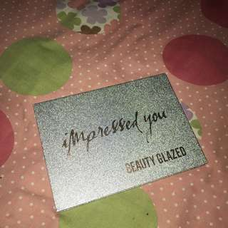 Beauty glazed impressed you palette eyeshadow