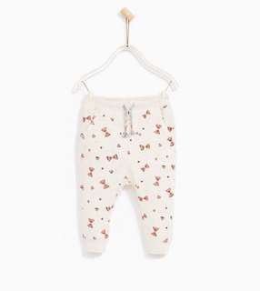 Zara Cotton Pants Size 12-18m