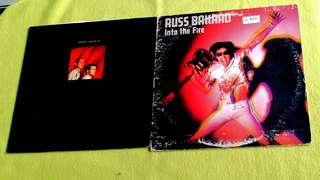 RED BOX . lean on me ● RUSS BALLARD AND THE BARNET DOGS . into the fire ( buy 1 get 1 free )  vinyl record