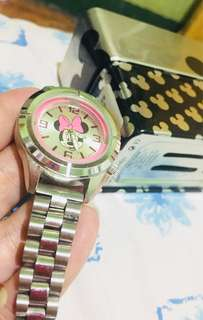 disney stainless watch