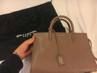 YSL Medium Cabas Rive Gauche Shoulder Bag