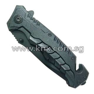 In Stock – CSK 0110 – Black Folding Knife Spring Assisted