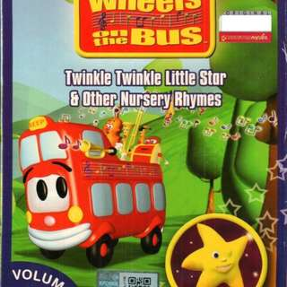 The Wheels On The Bus Twinkle Twinkle Little Star Vol.2 Anime DVD