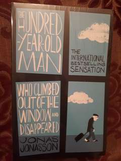 UNOPENED Jonas Jonasson- The Hundred Year Old Man Who Climbed out of The Window and Disappeared