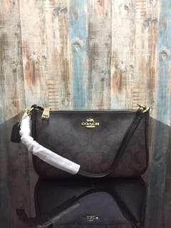 Coach Handbag signature Top Handle Premium