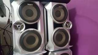 Sony Hi Fi System MHC-RV5 2600 Watts