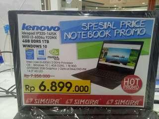 Kredit Proses 3 Menit Lenovo IP320-14ISK Core i3!! Free 1x Angsuran
