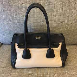 二手 狀態美 Prada 手提 肩背 兩用包
