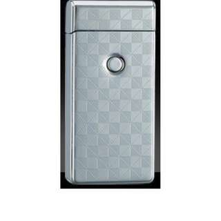 🚚 Pulse Arc Electronic Lighter (Double Arc) - Model 002 - Checkered Silver