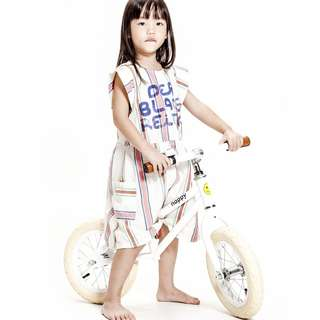 🚚 GSS SPECIAL - HAPPY BIKES BALANCE BIKE (WHITE)