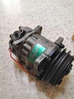 Saga Iswara Aircond Sanden Compressor Ori