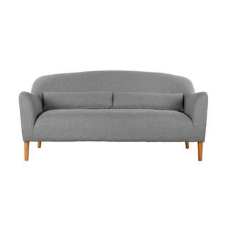 Sofa 3 seater warna Abu