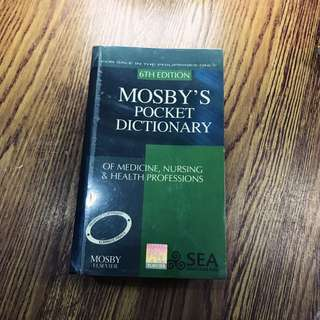 Mosby's Pocket Dictionary 6th Edition