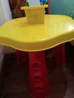 Kids Playdoh Activity table
