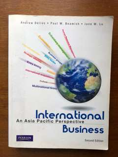 International Business: An Asia Pacific Perspective