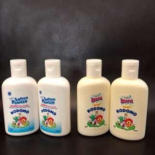 Brand new Kodomo Dust free baby powder, Rice milk