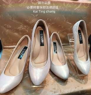 🚚 bonjour同款  美腿婚鞋氣墊尖頭高跟鞋 7cm 全新供應  非bonjour牌子