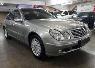 Mercedes-Benz E280 W211 AT th.2006.Low KM.