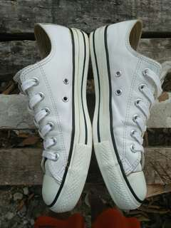 Converse Leather Low White Classic