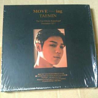 TAEMIN MOVE-ing Repackage Album