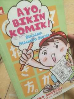 Preloved Buku Tutorial Menggambar Manga