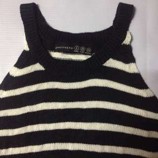 ATMOSPHERE Knitted halter
