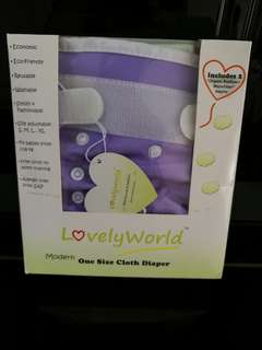 Lovely World Cloth Diaper