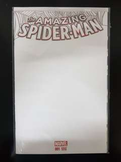 The Amazing Spider-Man (vol. 4) #1 Blank Cover Variant