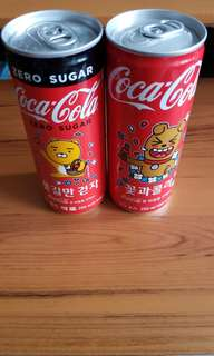 韓國 可口可樂 Coca Cola Kakao Friend (留意描述)