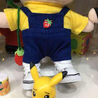 DOLL CLOTHES DENIM OVERALL BTS EXO