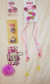Girls fashion accessories