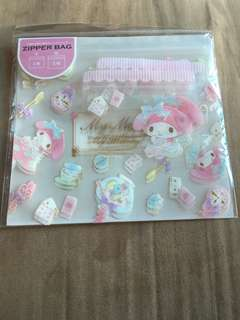 My Melody Ziplock bag
