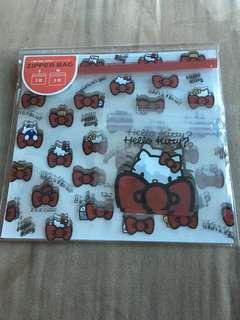 Hello Kitty Ziplock bag