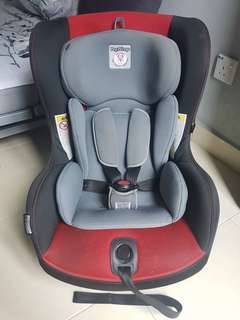 Peg Perego Viaggio 0+ 1 Switchable Car Seat - Black & Red