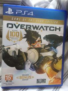 PS4 Overwatch (game of the year edition)