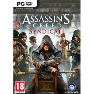 Assassin's Creed: Syndicate Offline with DVD (Main Games & DLC) (PC)