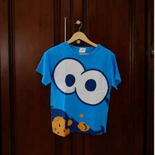 Cookie Monster T-Shirt by Universal Studios Japan