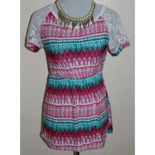 Aztec Printed blouse for women