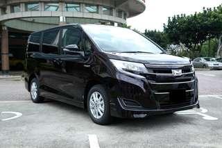 Toyota Noah Hybrid 1.8X (New Facelift) @ $118,800 (New Car)