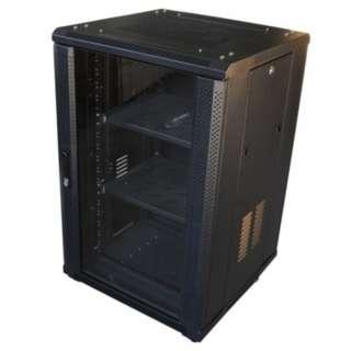 """Rack 19 Server Data Cabinet Deep Inch Network Mount Wall 18ru 4 600mm 18u Computer Open Fans Fan 19"""" Comms"""
