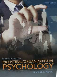 Uni Textbook: Introduction to Industrial/Organizational Psychology (6th Ed)