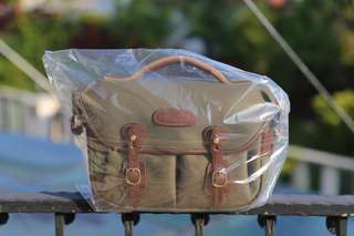 New- Billingham Hadley Small Pro (Sage FibreNyte / Chocolate Leather)